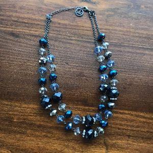Blue Trifari Necklace